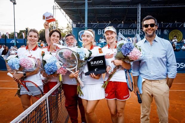 Фото №2 - Богомолов на корте, Собчак среди болельщиков и другие звезды на благотворительном теннисном турнире