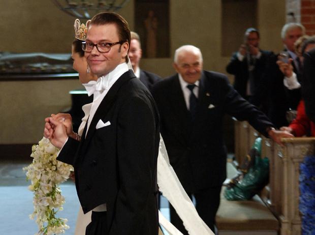 Фото №36 - Самые забавные моменты на королевских свадьбах (истории в фотографиях)
