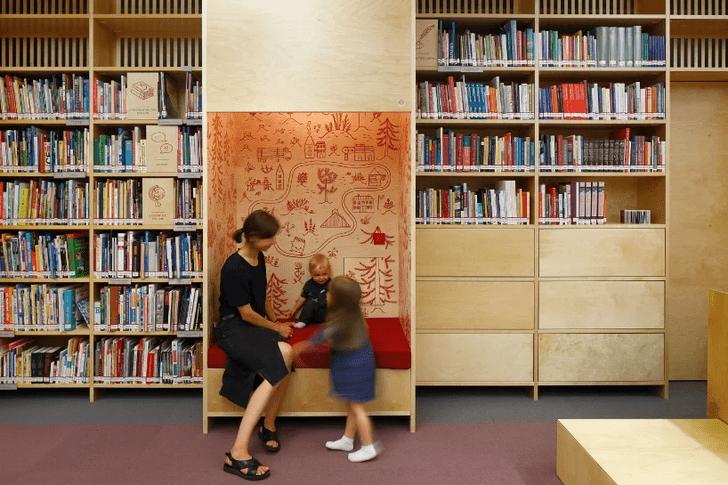 Фото №9 - Яркая библиотека для детей в Риге