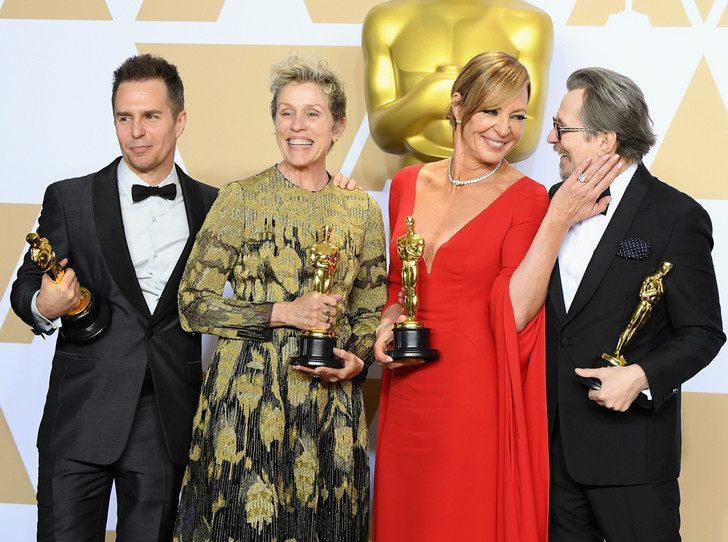 Фото №1 - Сколько стоил «Оскар-2018» (и кто выиграл, а кто проиграл)