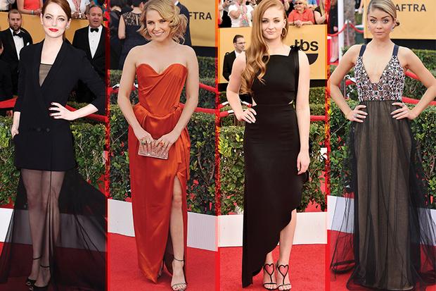 Фото №1 - Screen Actors Guild Awards 2015: красная дорожка