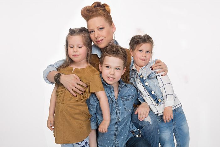 Фото №1 - Певица Юта: «Меня спасли мои дети»