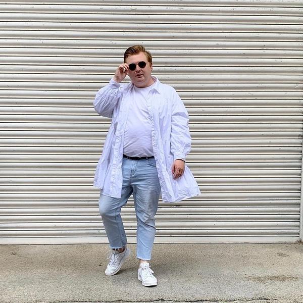 Фото №1 - Что носить летом парням plus size: 10 модных образов