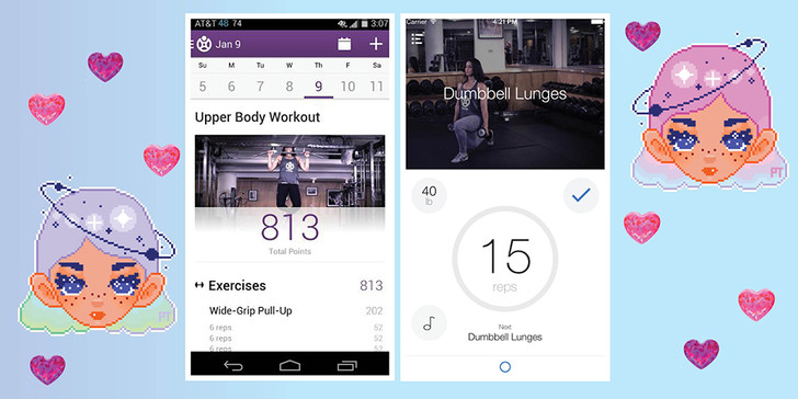 Fitocracy – Daily Workout and Fitness Routine Tracker приложение