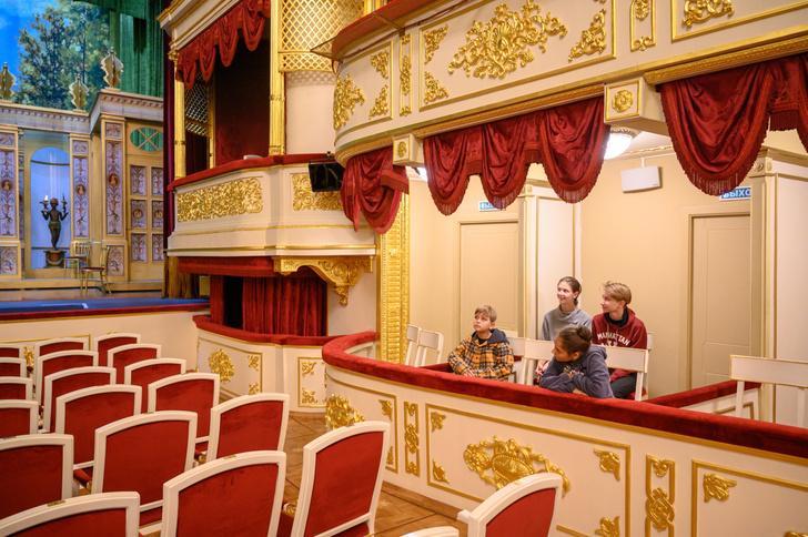 Детская программа в Малом театре «Дружим с малым»