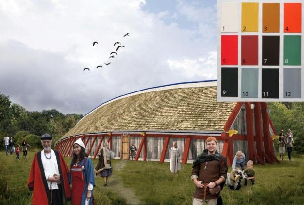 Фото №1 - Названы любимые цвета викингов