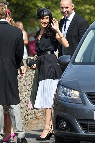 Фото №7 - Меган Маркл и принц Гарри на свадьбе друзей