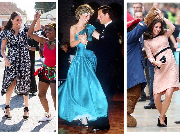 Фото №1 - Короли диско: самые эффектные танцы Виндзоров— от Елизаветы до Уильяма