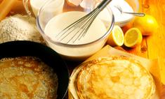 Как приготовить тонкие ажурные блины на молоке?