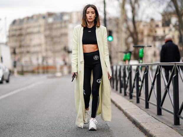 Фото №6 - Модный камбек: с чем носить леггинсы сегодня