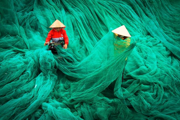 Фото №1 - Сотканное море