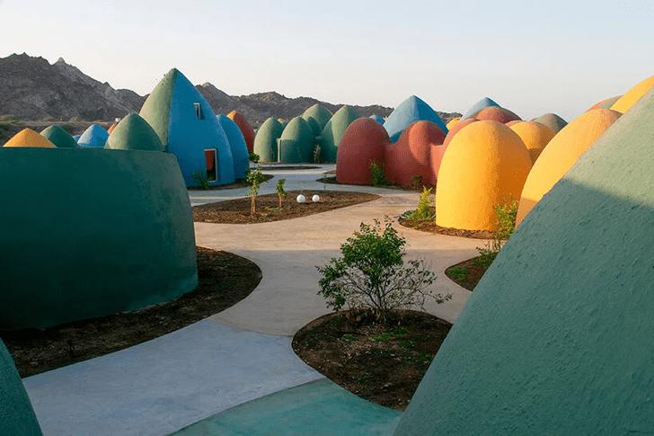Фото №3 - Разноцветная деревня в Иране