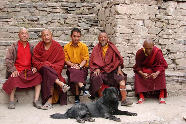 Фото №3 - Божественный розыгрыш в Тибете