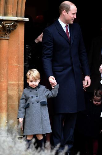 Фото №6 - Принцесса Шарлотта и принц Джордж снова в центре внимания