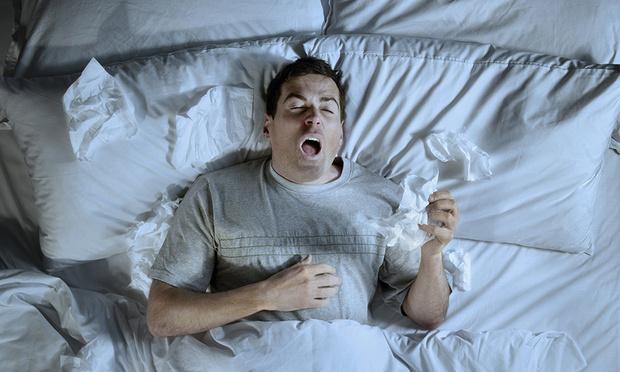 Фото №1 - Почему люди во сне не чихают?