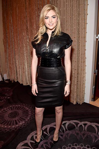 Фото №1 - Не вульгарно, но стильно: супермодель Кейт Аптон в ультракоротких шортах
