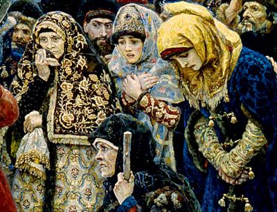 Фото №12 - 16 символов, зашифрованных в картине «Боярыня Морозова»