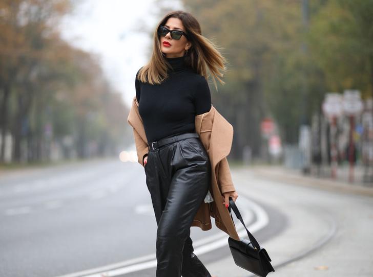 Фото №1 - Босс не будет против: как носить кожаные вещи в офис