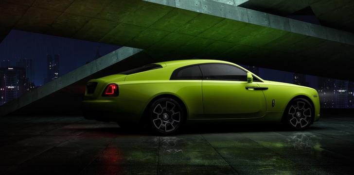Фото №2 - Ночи в стиле неона— Rolls-Royce удивил новыми раскрасками