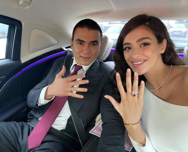 Фото №1 - Супруга миллиардера Светлана Меткина женила 24-летнего сына, пока нянчит годовалого младшего