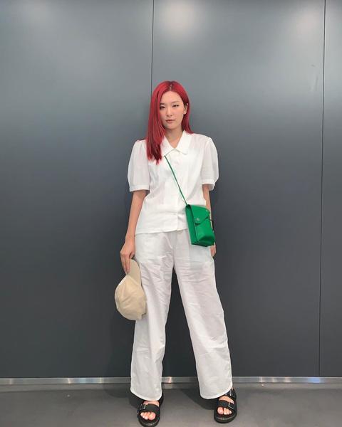 Фото №8 - 10 стильных аутфитов от Сыльги из Red Velvet для этой весны