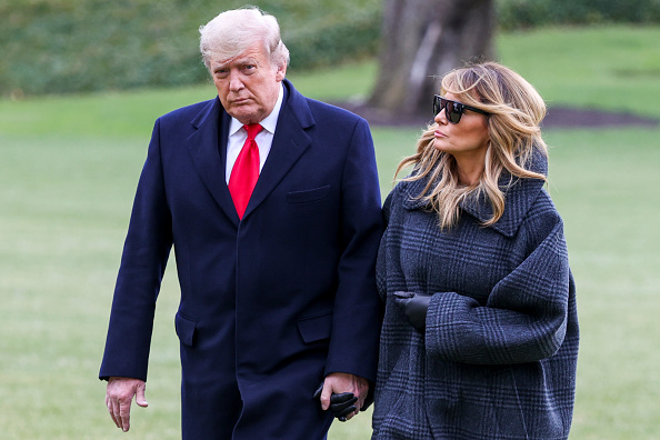 Прощальное пальто «с секретом» Мелании Трамп