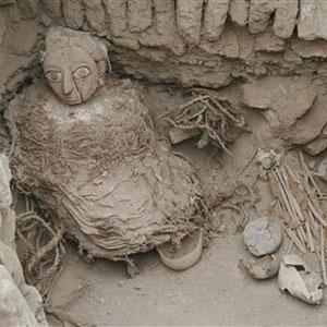 Фото №1 - В Перу найдена мумия