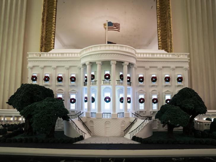 Фото №4 - Последнее Рождество в Белом доме: что Мелания Трамп хотела сказать новогодними декорациями