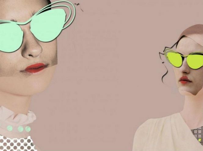 Фото №1 - Крылья стрекозы: живой мир в очках Linda Farrow