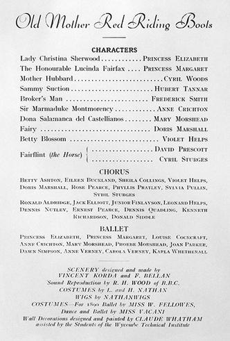 Фото №29 - Рождественский театр Виндзоров: как принцессы Елизавета и Маргарет поднимали боевой дух нации