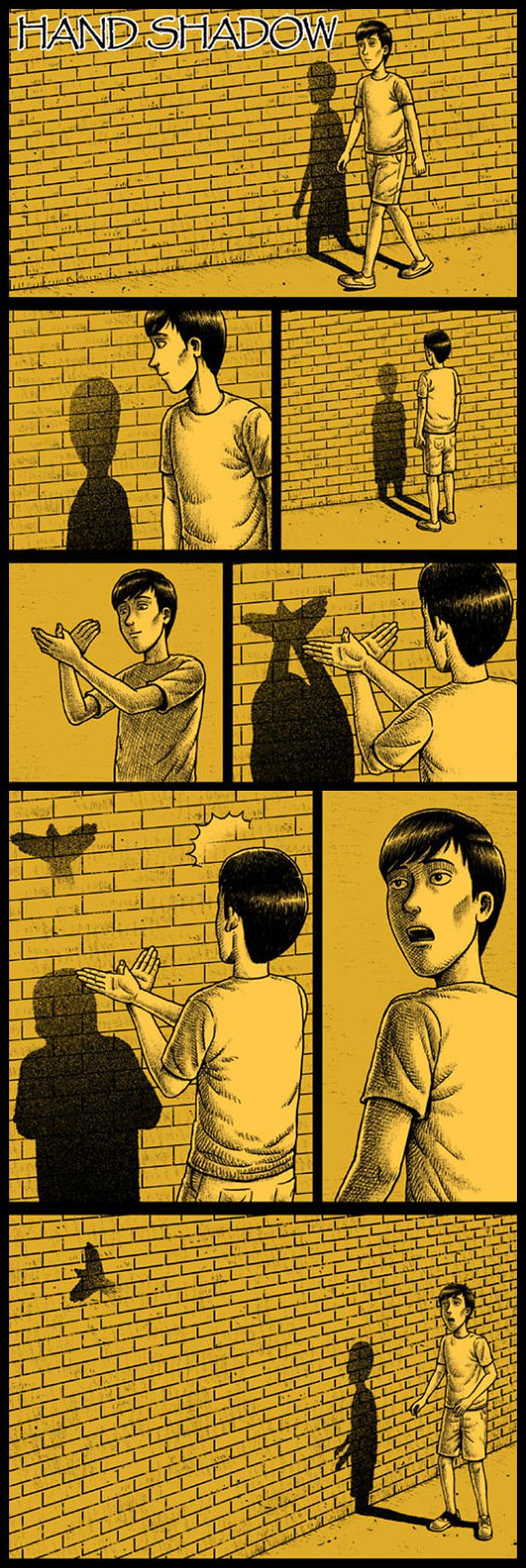 Фото №7 - 30 комиксов с отборным черным юмором от Бена Чена