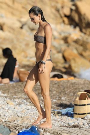 Фото №1 - Алессандра Амбросио показала стройные ноги