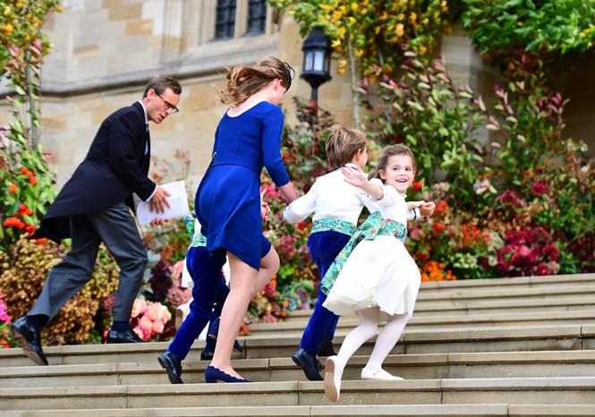 Фото №40 - Свадьба принцессы Евгении и Джека Бруксбэнка