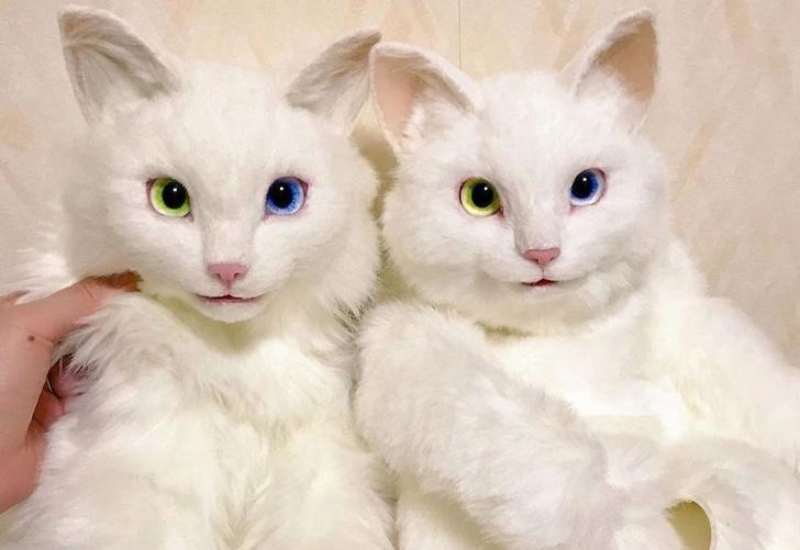 Фото №1 - Японка делает сумки, похожие на живых котов (фото)