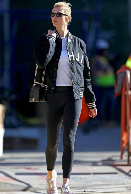 Карли Клосс в Нью-Йорке