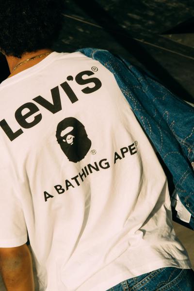 Фото №2 - Хорошие новости: Levi's и Bathing Ape выпустили новую весеннюю коллекцию 😍