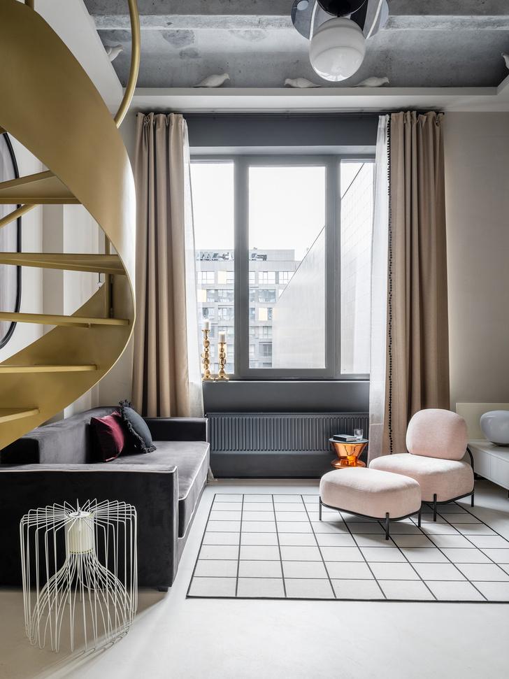 Фото №6 - Двухуровневая квартира 41 м² в Москве