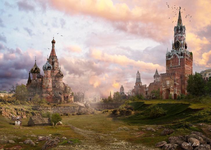 Лишь у Владимира Манюхина Красная площадь выглядит как настоящая, какой её видят коренные москвичи!