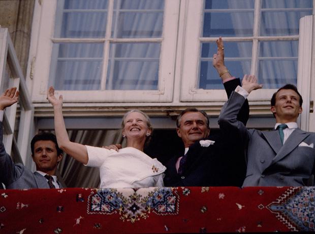 Фото №22 - Принц Хенрик и Королева Маргрете: история любви в фотографиях