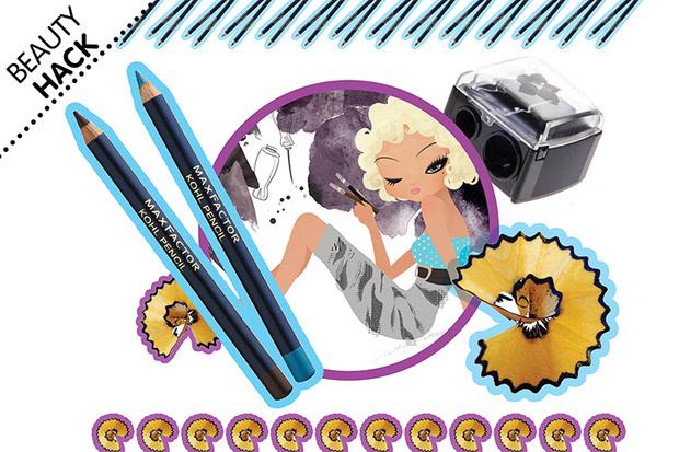 Фото №1 - Beauty hack: Как подточить карандаш?