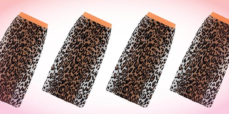 Фото №1 - Дорого-дешево: леопардовая юбка
