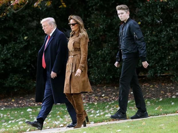 Фото №3 - Первые мальчики государства: что общего у принца Джорджа и Бэррона Трампа