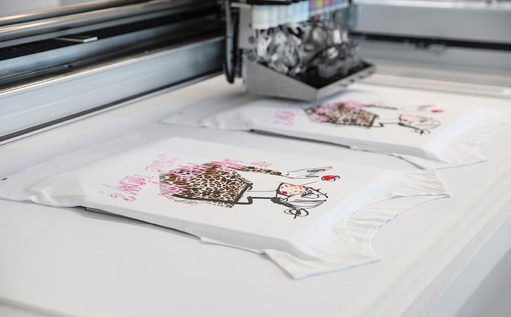Фото №1 - Новые технологии в моде: как Marc Cain развивает техники струйной печати