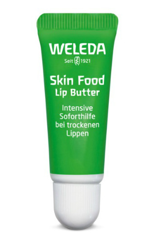 Бальзам для губ Skin Food Lip Butter от Weleda