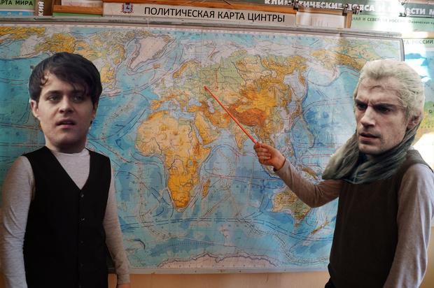Фото №1 - Фанаты нарисовали подробную карту мира «Ведьмака»