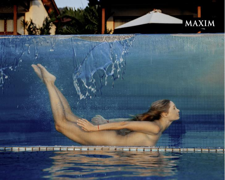 Фото №7 - Морская фигура: новая фотосессия Натальи Рудовой в MAXIM