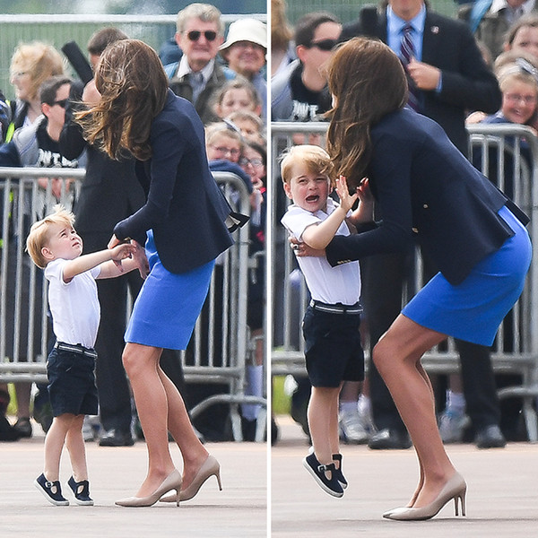 Фото №4 - Кризис трех лет по-королевски: принц Джордж показал характер