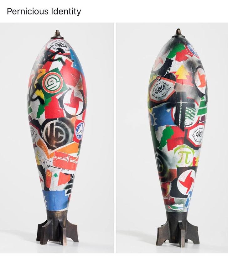 Фото №5 - Художник Катя Трабулси и ее арт-объекты в виде снарядов