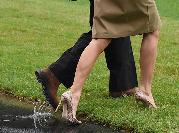 Фото №3 - 5 ложек дегтя: почему стиль Мелании Трамп не так хорош, как кажется