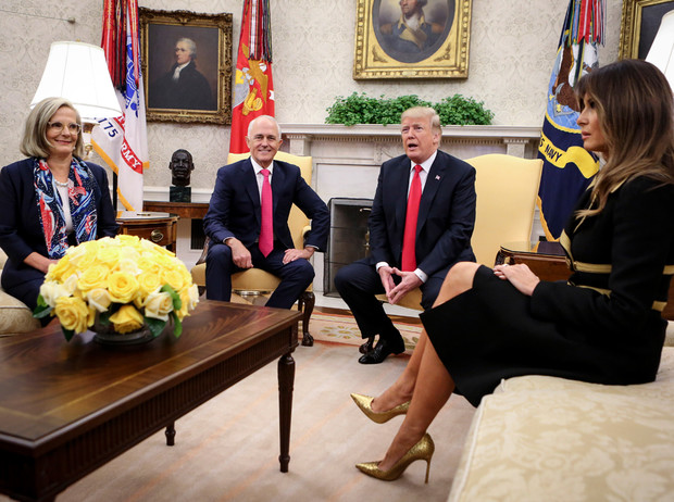 Фото №8 - Мелания и ее власть в Белом доме: альтернативная история Первой леди США